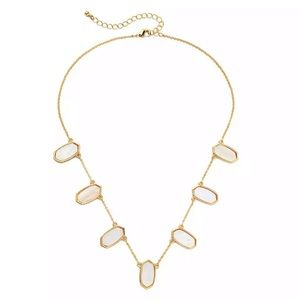 Jewelry - NEW Ivory/Mother of Pearl & Gold/RoseGold Necklace